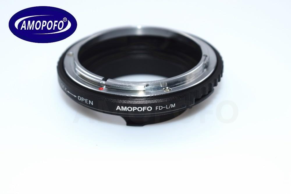 Leica üçün Canon FD lens üçün FD-LM Adapter TECHART LM-EA 7 - Kamera və foto - Fotoqrafiya 3