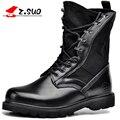 Gran Tamaño de Los Hombres Táctico Militar Botas de Combate Negro Desierto Ejército Boot Hombres Otoño Invierno Moda Hombre Casual Vestido Tubular zapatos