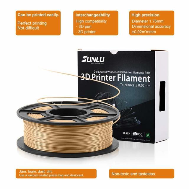 175 мм нить для 3d принтера из древесного волокна экологическая фотография