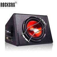 10 дюймов 50 Гц 250 Гц Активные автомобильные сабвуферы Динамик с Усилители автомобиль бас аудио