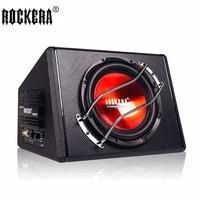 10 дюймов 50 Гц 250 Гц активный автомобильный сабвуфер динамик с усилителями автомобильный бас аудио