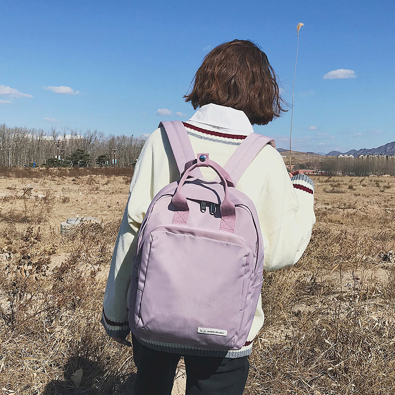 Multifunction Women Canvas Backpack Teen Girls/Boys Stylish School Bag Shoulder Bag Laptop Backpack For Youth Travel Schoolbags