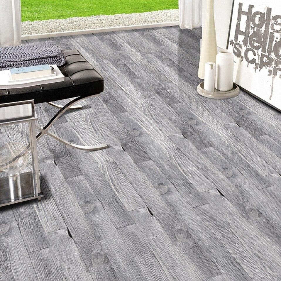 Stickers Simulation Wood Flooring