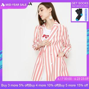 Vero Moda 2019 Spring Summer Striped Pattern Sleeves Blazer