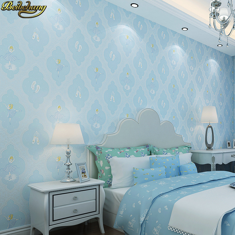 beibehang papel de parede 3D wallpaper for Children's room princess wallpaper for walls 3 d wall papers home decor living room shinehome sunflower bloom retro wallpaper for 3d rooms walls wallpapers for 3 d living room home wall paper murals mural roll