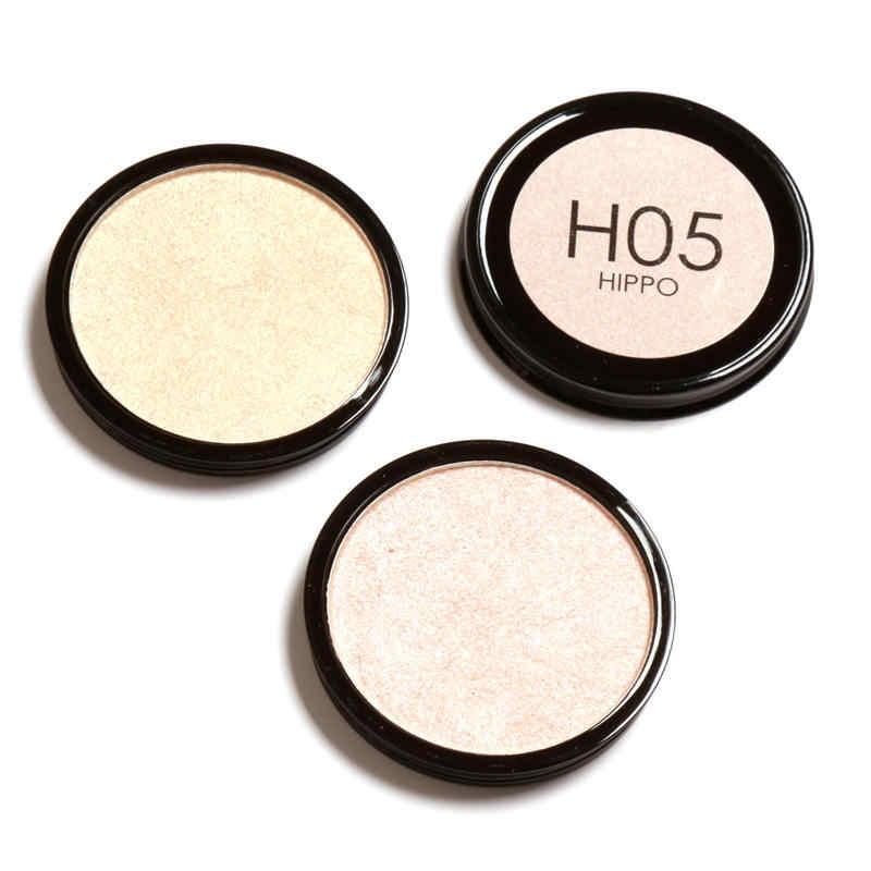 Focallure 4色マットブロンザー蛍光輪郭シェーディングパウダー化粧防水長続き3dフェイスコンパクトパレット