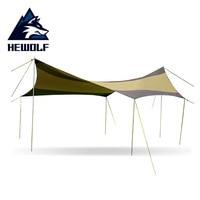 Large Hexagonal Sun Shelter With Poles Waterproof Awning Canopy Beach Tent Beach Shade Tarp Pergola Camping Sunshade Gazebo