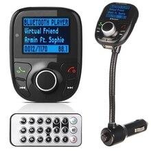 Handsfree USB автомобилей Зарядное устройство Беспроводной Bluetooth FM комплект MP3 плеера USB Зарядное устройство Мощность зарядки универсальный для Мобильные телефоны