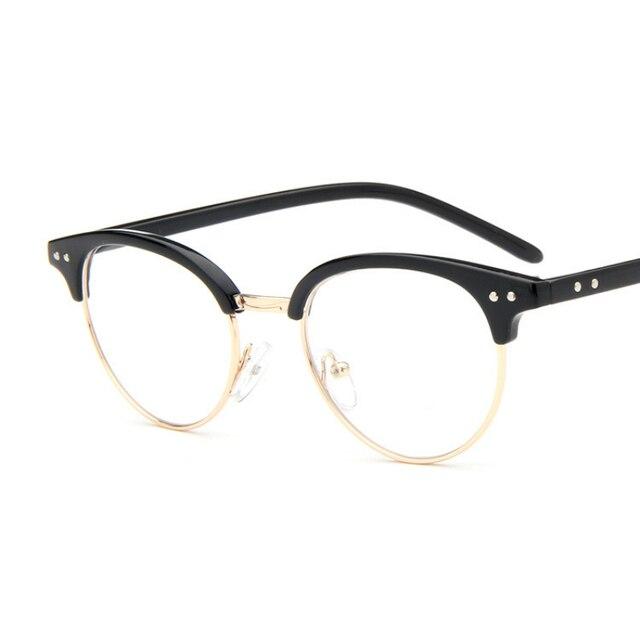d40067198aea ANEWISH Fashion Newest Style Eyeglasses Frame Vintage Glasses Women Men Glasses  Frame Optical Reading Glasses Oculos
