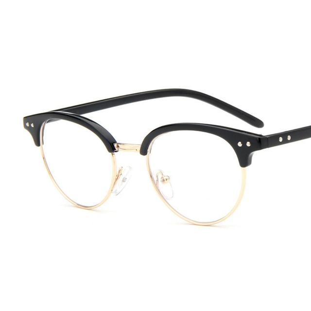 Anewish moda más nuevo estilo ojo Gafas Marcos vendimia Gafas ...