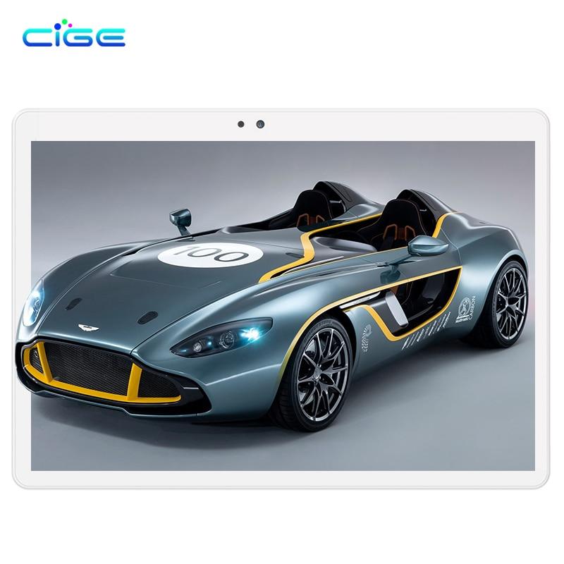 CIGE 10.1 Inch Android 6 Tablet PC Tab Pad 4GB RAM 64GB ROM Octa Core Play Store Bluetooth 4G Phone Call Dual SIM 10.1
