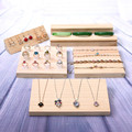 Fashion Wood Jewelry Display Tray Wood Ring Tray Pendant Tray Bracelets Display Holder Bangle Holder