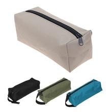 Hand-Tool-Bag Case Makeup-Organizer Pouch Storage Nail-Drill-Bit Metal-Parts Travel Fishing
