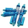 100 мм Алюминиевый Контрейлерных Амортизатор Пружины для Сканеры CC01 SCX10 D90 Высокое Качество