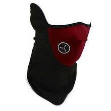 E0015 Winter Mask Windproof Cold-proof Neck Guard Polar fleece Half Face Mask Outdoor Sports Snowboard Ski Masks