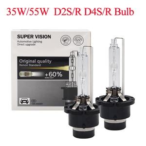 Image 2 - 2021 NEW 55W Xenon D2S HID Bulb 4300K D4S 6000K D2R 5000K D4R 8000K Auto Headlight Bulb 35W 55W Original D2S D4S Xenon HID Bulb