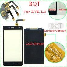 La mejor calidad para zte l3 pantalla táctil de cristal digitalizador táctil para zte blade l3 t120500e1v1.1 y t120481e1v1.0 y hw-243 v1.0