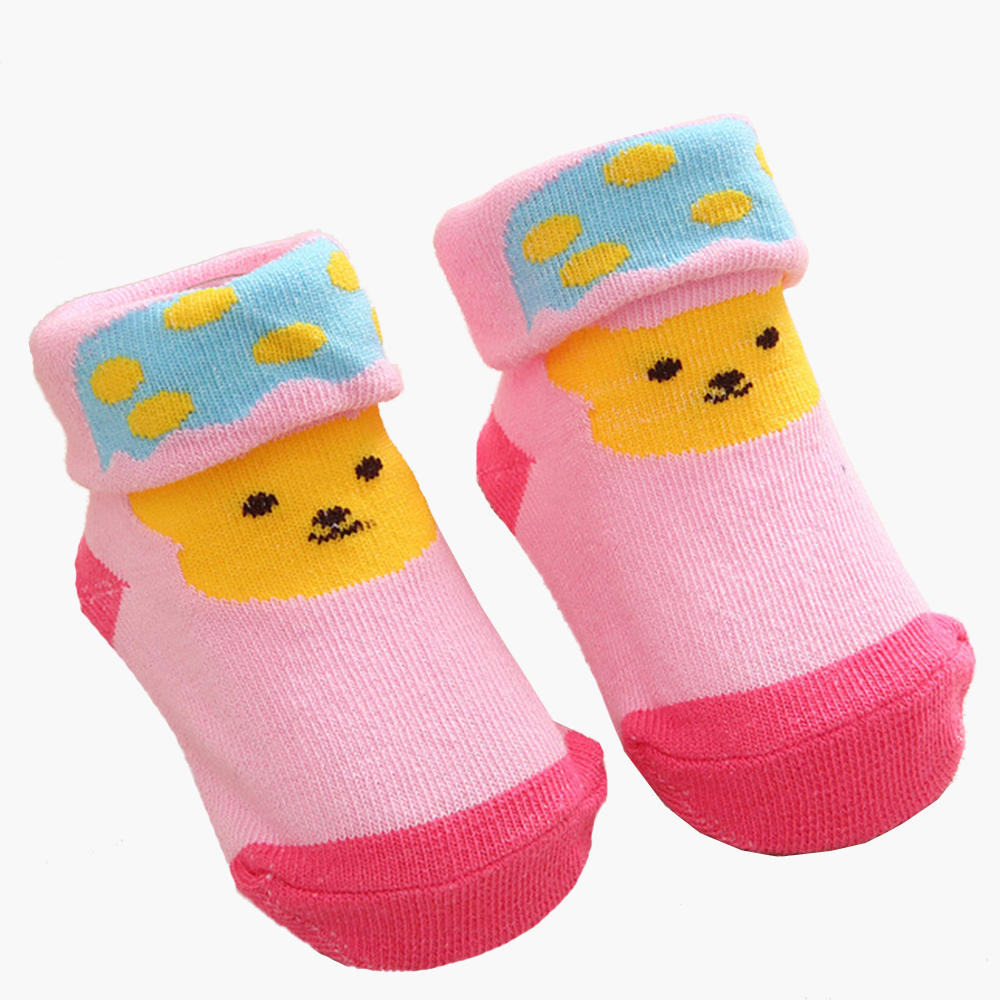 Clearance Newborn Cute Animals Print Baby Socks Baby Anti-skid Cotton Socks For Newborns Cartoon Infant Sock Toddler Accessories