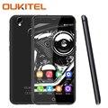 Oukitel K7000 Мобильный Телефон 4 Г LTE 5 Дюймов 2 ГБ ОПЕРАТИВНОЙ ПАМЯТИ 16 ГБ ROM С 8-МЕГАПИКСЕЛЬНОЙ Камерой Quad Core Отпечатков Пальцев Android 6.0 смартфон