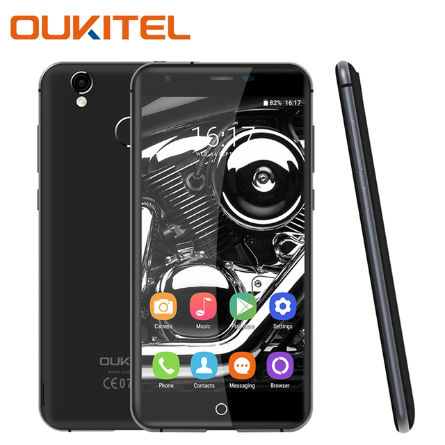 Oukitel K7000 Mobile Phone 4G LTE 5 Inch 2GB RAM 16GB ROM With 8MP Camera Quad Core Fingerprint Android 6.0 Smartphone