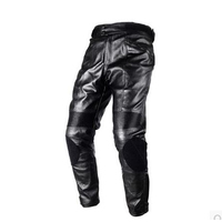 Top quality Duhan mens windproof motorcycle motocross pants waterproof Riding Protective Trousers PU leather Racing pants
