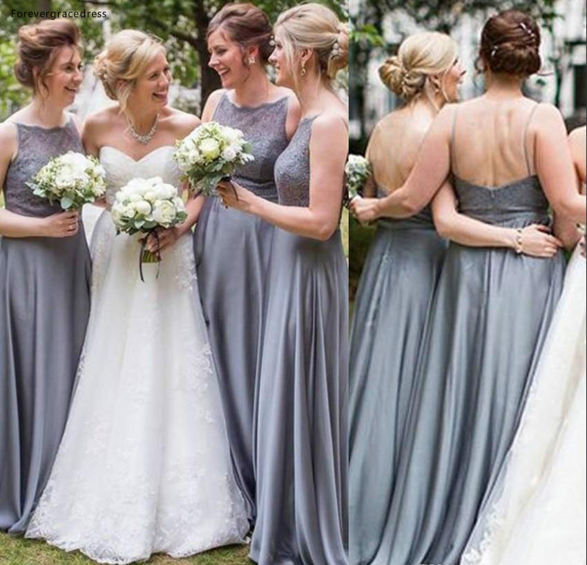 A Line Bridesmaid Dress Cheap Forest Western Summer Country Garden Formal Wedding Party Guest Maid of Honor Gown Plus Size