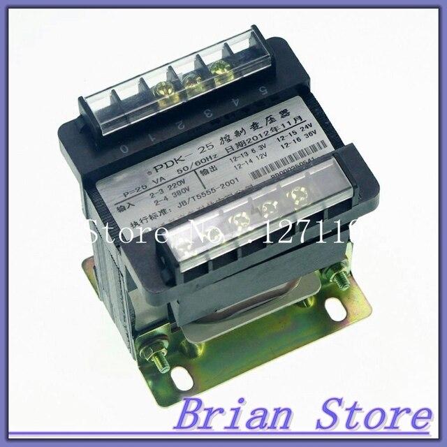 เอาท์พุทAC 0 6.3V 24V 36V 220Vเฟสเดียวหม้อแปลงควบคุม25VAหม้อแปลง ...