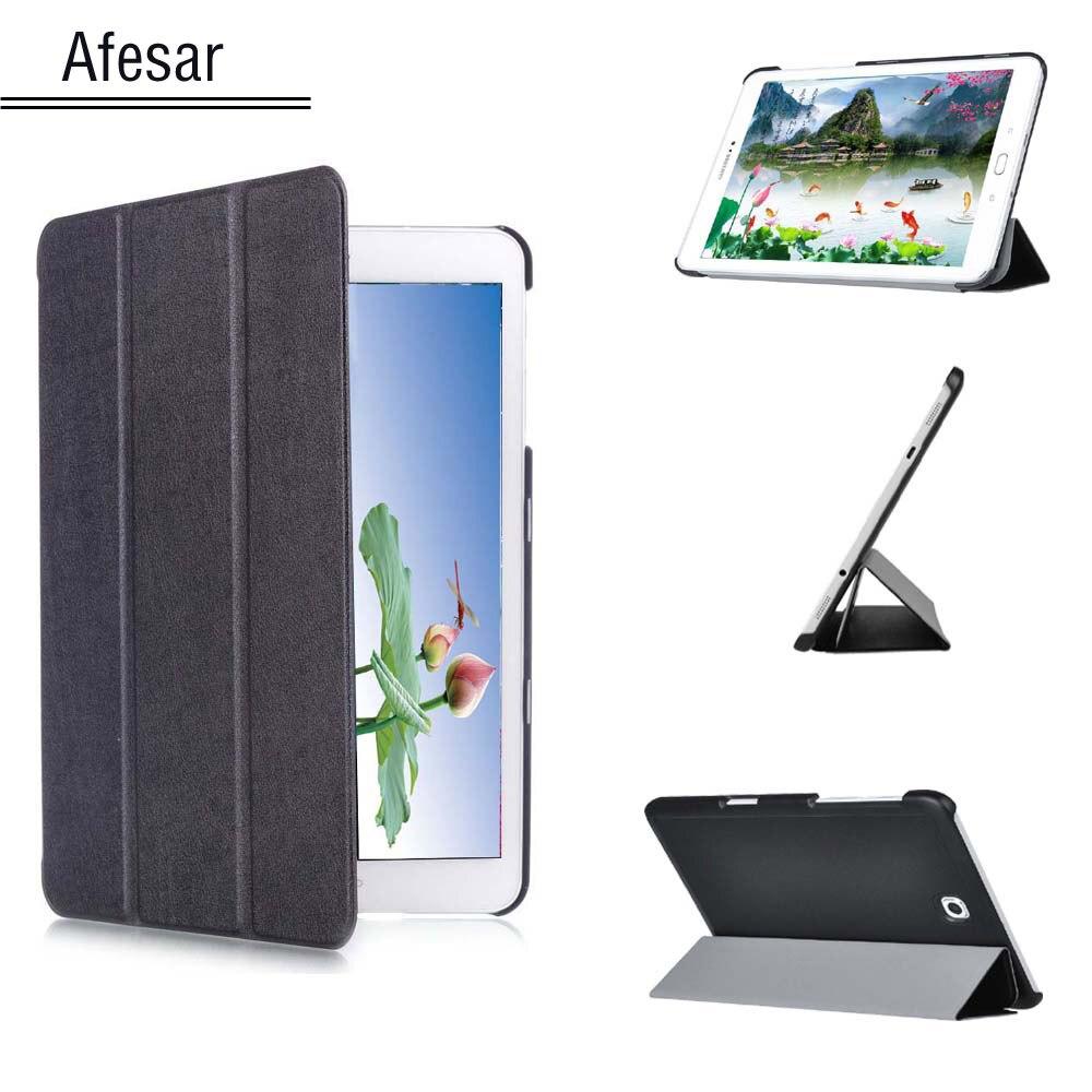Tab S2 9,7 funda SM-T813 T819 Slim inteligente caso para cubrir Samsung Galaxy Tab S2 9,7 SM-T810 T815 Tablet con Auto dormir/despertar
