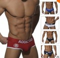 new brand ADDICTED name dependent fashion sexy men's briefs penis underwear briefs panties for man 5 colors free shipping