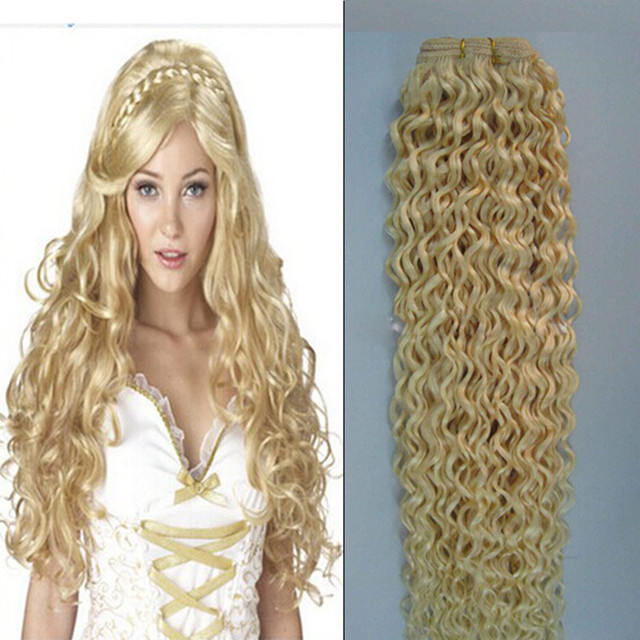 Gift Clips 1 Pcslot Blonde Hair Weaving Color 613 Double Drawn