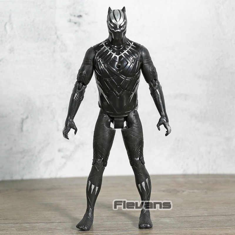 Marvel avengers infinito guerra pantera negra pvc figura de ação collectible modelo brinquedo 15cm