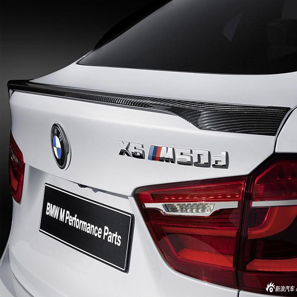 X6 F16 M-Performans Tarzı Karbon Fiber Oto Araba Arka Vücut Kiti - Araba Parçaları