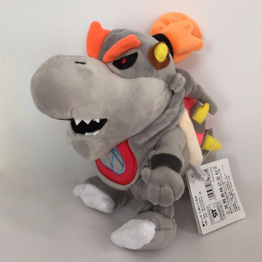 Morton Koopa Jr./&Dry Bone Koopa Browser Plush Doll Kids Toy Super Mario Bros