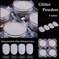 2g/Box Shining Glitter Powder Gorgeous Manicure Nail Art Glitter Decoration 4 Colors