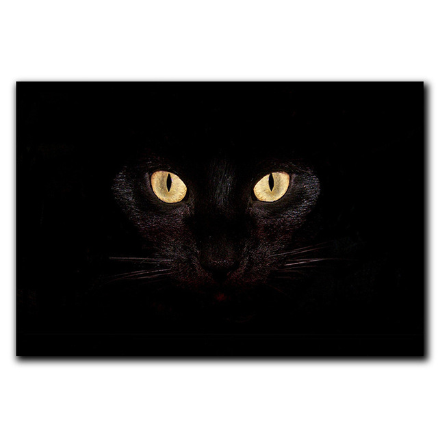 CAMMITEVER Doormat Black Cat Eye Carpet Alfombras Para Kitchen Tapis Salle  De Bain Foot Pad 350g Free Shipping Tappeto Salotto