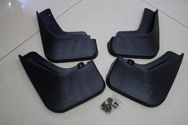 JAC S5 T6 Mudguards Mud Flaps Respingo Guarda-Soft material de proteção asas Frete grátis (loja de peças de reposição para 4S) 2012 ~ 2015 Anos