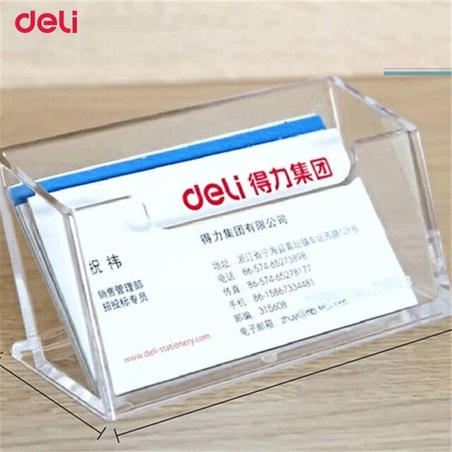 Deli Big Capacity Business Name Card Holder Credit Card Holder ...