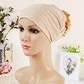 11 цветов Исламские Платки Палантины Хиджаб caps Женщин 2016 Новый Дизайнер Мусульманских Все Включено Cap Изогнутые Дополнительно Женщины Мусульмане Hat