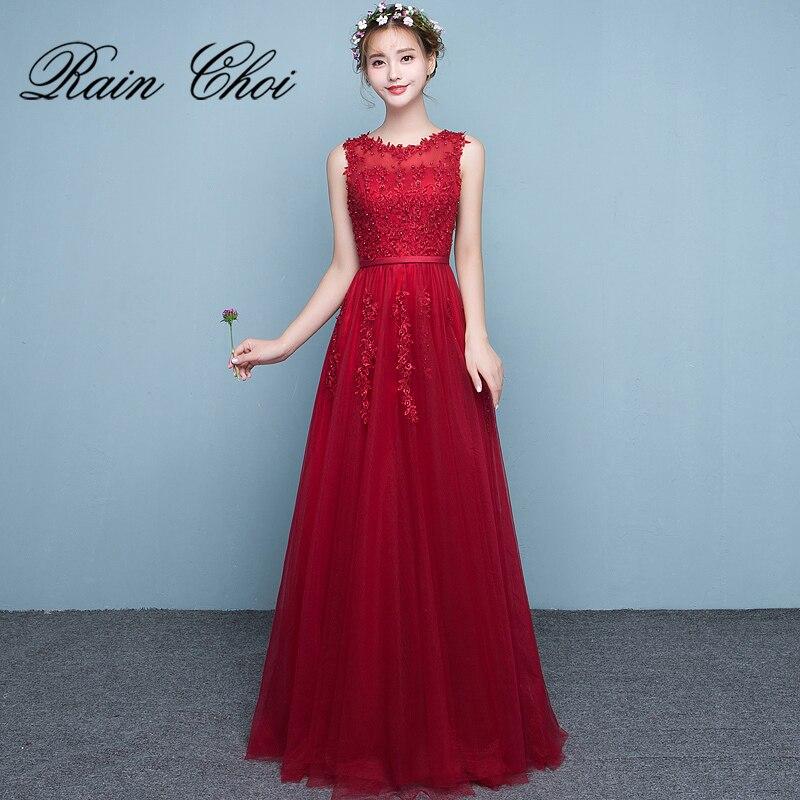 Prom     Dresses   O-Neck Evening Party   Dress   A-Line Vestido De Festa Long   Prom   Gown