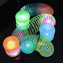 Kids Children Glowing Rainbow Magic Circle Toys Colorful Str