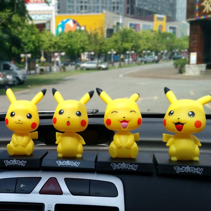12cm Takara Tomy Pokemon Anime Pikachu Action Figure PVC Figurine Collectible Model Christmas Gift Toys