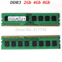 DDR3 RAM 4Gb / KVR memory 16Gb 8Gb 4Gb 2Gb 1600Mhz 1333Mhz / for Intel memoria ddr3 1600 1333 2G 4G 8G 16G - lifetime warranty