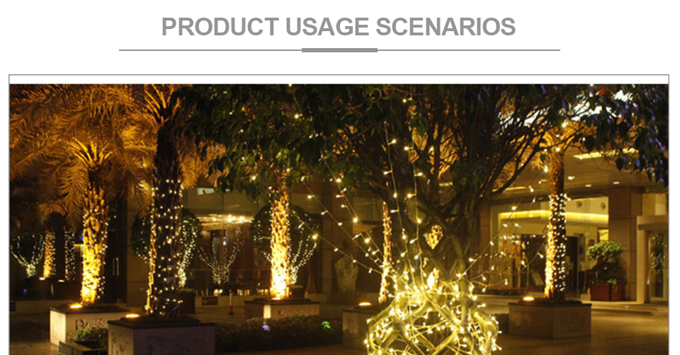 Peach Flower LED Solar Lamp Fairy String Light Outdoor Decoration Holiday Party Lights For Garden Christmas Tree Lawn Landscape (17)