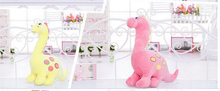new plush dinosaur toy lovely soft cartoon  dinosaurs doll gift about 53cm