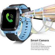 Smart Waterproof Wristwatch for Kids Security Anti-lost Remote Control Touch Screen GPS Tracker SIM Call Phone SOS Wrist Watchs(China)
