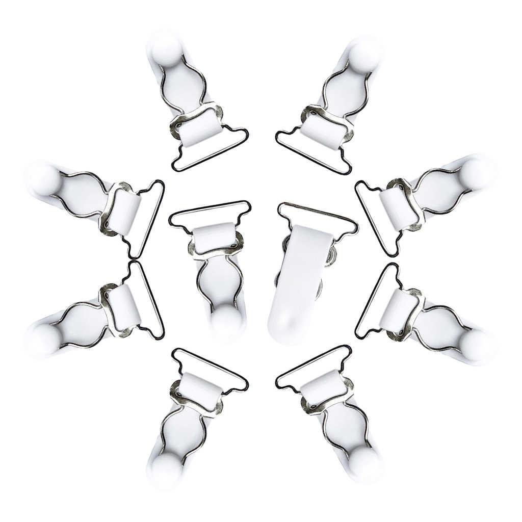 20 шт белый черный Замена подвязки ремень ремни бедра высокие чулки подтяжки сцепление для корсетов корсеты боди пояса с резинками