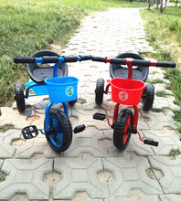 Child Baby triciclo infantil Bike Bicycle Three Wheel Baby Tricycle Pneumatic Tire Outdoor Fun Kids bicicleta mellizos
