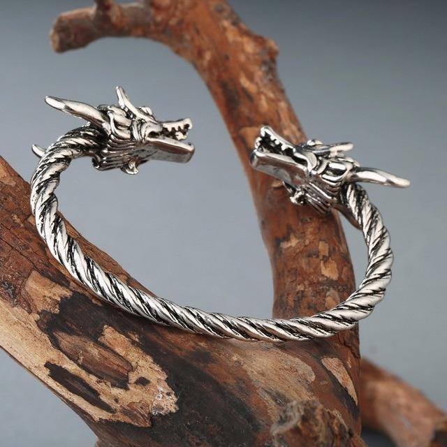 Bracelet Viking Dragon hommes 4