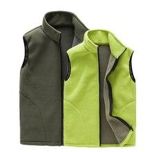 Men women  Autumn Outdoor Sports Fleece Vest Winter female Male Front Zipper Windproof Hiking Vests цена в Москве и Питере