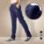 Corredores homens 2016 Top qualidade marca de roupas casuais calças dos homens masculinos sweatpants calças Harlan calças azul Escuro Cinza quente